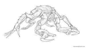 Creature 21 - Sketch preview by Cloister