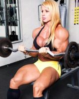 Anne Freitas Muscle Morph by Turbo99