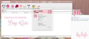 Tema de Winrar CUTE BAG by Isfe