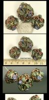 Keys, Lock, and Vines Bead Set by CatharsisJB