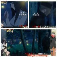 Romantic Naruhina moment (spoilers) by magicofantasy