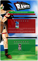 Raditz Journal CSS 2.0 by Paradise-of-Darkness