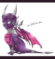 little Cynder by KittyTheSilence