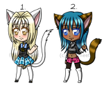 Adoptables 015 and 016 (1/2 OPEN) by Vettyneet