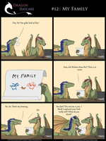 Dragon Daycare #12: My Family by RimentusTheDragon
