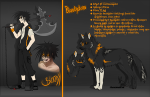BloodyChaos new human + feral ref 2012 by dNiseb