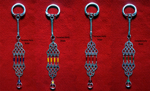 Silver Keychains by BloodRed-Orchid