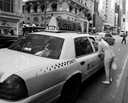 NYC Taxi by cangelir