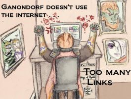 Ganondorf on the Internet by scetchfreak-77