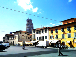 Pisa roads for the tower by Dreefire