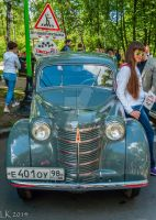 MZMA Moskvitch 401 (1950s) by Eliweisz