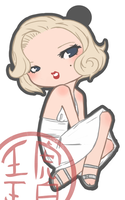 Marilyn Charm by p-o-c-k-e-t