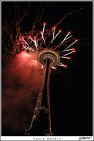 Space Needle by xshadowx