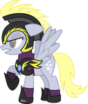 ED: Derpy Hooves,  Lunar General by RuinedOmega