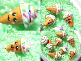 Icecream Charms by Shelby-JoJewelry