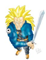 Future Trunks SSJ3 by Red93nojutsu