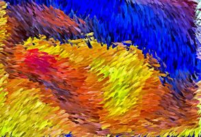 Brush Strokes IX by montag451