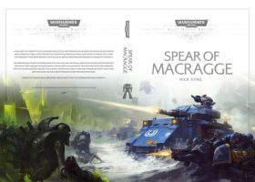 Warhammer40000 'Spear of Macragge' cover artwork by Doo-chun