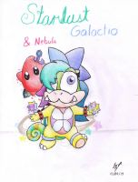 New OC's: Stardust Galactio and Nebula by CharmanDrigo