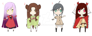 [Closed] Adopt Female Batch 1 by AzaHana