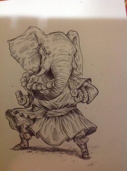 Monkphant by Doomsday90