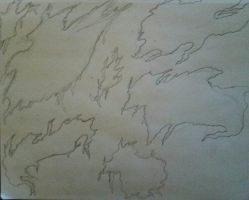 rough of my map. the world of... no name yet by VermillionUmbra