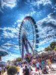 Augsburger Plaerer 2012 ferris wheel 1 HDR by gogo100878