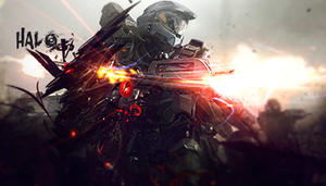 Halo Fire Tag by GreenMotion
