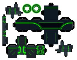 Tron Legacy Green Program by mikeyplater