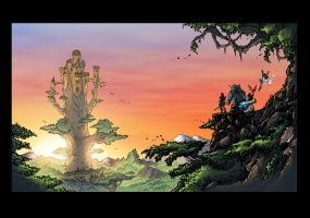 Defenders of Eden: Journey to the Tree by oICEMANo
