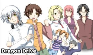 Dragon Drive Group Pic by KaoriMiko