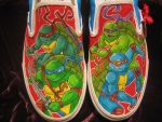 Turtle Vans 2 by corgi