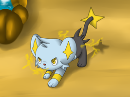 Shinx by ArrowTheHedgehog1
