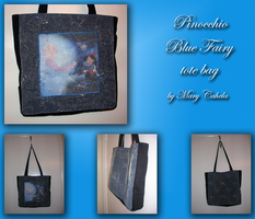 Blue Fairy tote bag by vampirate777