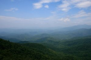 View From Blowing Rock 2 by rememberthename