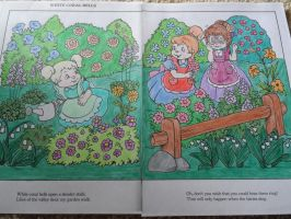 Chipettes and White Coral Bells by Brittany-Psalm28-7
