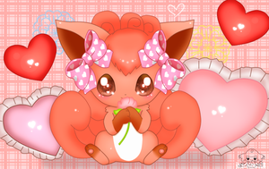 Cute Vulpix by jirachicute28