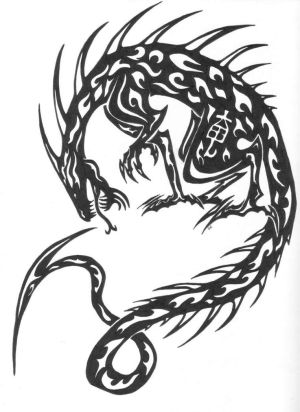 Japanese Dragon Tattoo Designs Picture 8