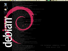 Debian Simplified to Black... by OneST8