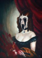 Horror Portrait by ichabod1799