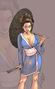 Geisha Color by logicfun