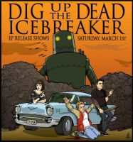 DUTD and Icebreaker show flyer by mikefeehan