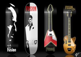Fusion Skateboards by gt-mx