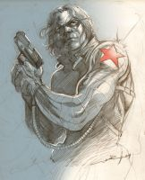 Winter Soldier by Cinar