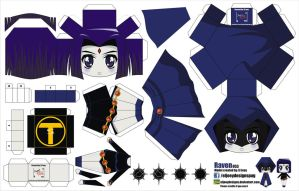 Raven (Joey's Chibi Girls 053) by ELJOEYDESIGNS
