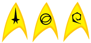 Starfleet insignia tos by bagera3005