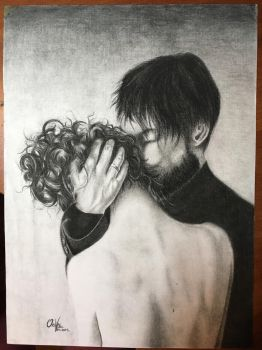 Love (Charcoal) by Oricat