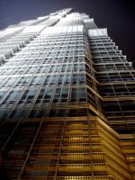 Jin Mao Tower Outside by TopDroPics