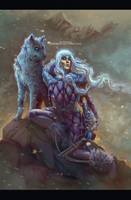 white wolf by mrssEclipse