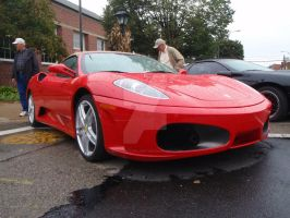 Ferrari 430 Spyder_red by DracosStarlight
